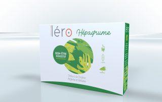 Pack ampoules Léro Hépagrume - bien-être digestif
