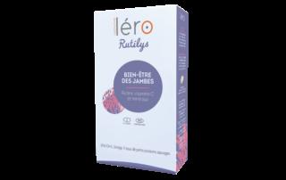 Boîte produit Léro Rutilys pour retrouver confort des jambes légères - 3507x2480