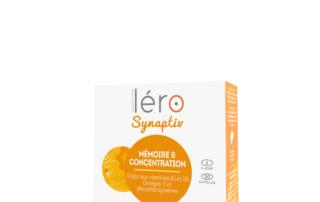 Boite Léro Synaptiv - magnésium marin B6 - mémoire et concentration - 2000x2000