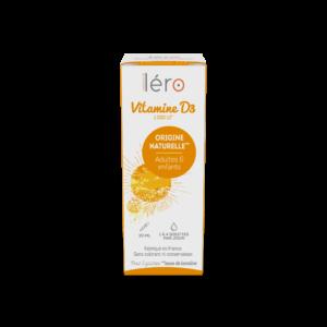 Pack vitamine D3 Léro - maintien ossature et renforcement immunité