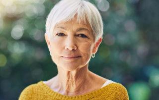 Portrait femme âgée